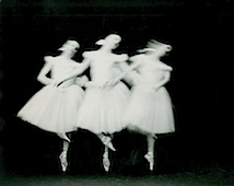 Paul Himmel: ohne Titel (Das New York City Ballet tanzt Schwanensee), 1951-1952