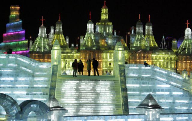 China, Eis, Winter