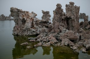 Tuffa-Formationen am Mono Lake.