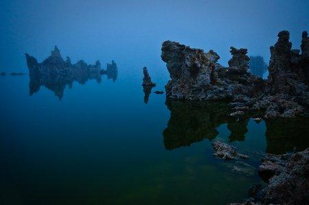 Mono Lake, CA. Das Geisterschiff (Foto © P. Sennhauser).