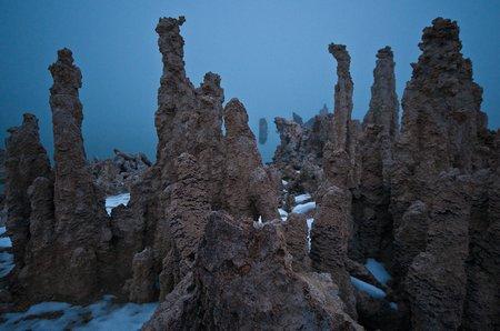 Mono Lake, Tuffa-Formationen. (Foto © P. Sennhauser) 1/60s, 16mm (24mm), ISO 400, -0.7EV, f/5