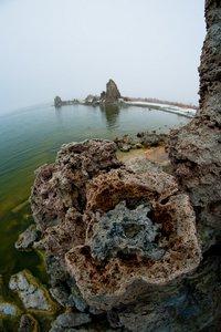 Noch mehr Fisheye am Mono Lake (Foto © PS)