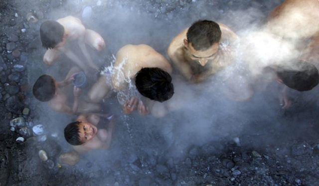 Hindus baden (keystone)