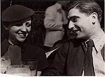 Fred Stein: Gerda Taro und Robert Capa, Paris, 1935, © Fred Stein/International Center of Photography