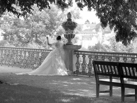 Brautfoto: Formatwechsel angezeigt