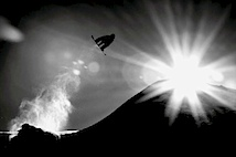 Claudio Casanova, Schweiz: Snowboarder take off, courtesy of the Sony World Photography Awards 2010