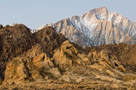 Alabama Hills und Lone Pine Peak, Kalifornien. (©PS)