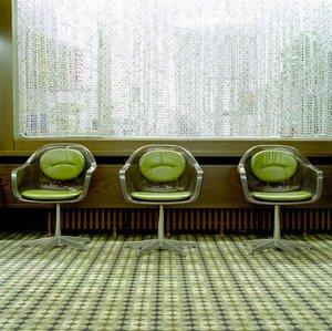 70er Innenraum: Komposition folgt Inhalt