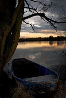 Das Boot, nachbelichtet.