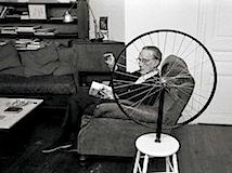 Vera Mercer: Marcel Duchamp, Paris ca. 1960