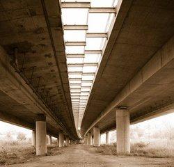 Die Brücke ohne Kopfstand.