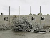 Donovan Wylie, Deconstruction of the Maze prison. Northern Ireland, 2008, © the artist/ Magnum Photos