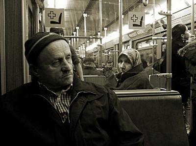 U-Bahn-Foto: Der entscheidende Augenblick