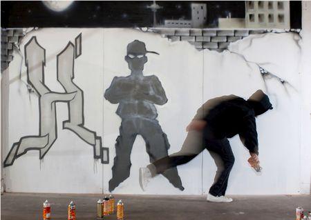 Sprayer-Dokumentationsfoto: Das Konzept gewinnt