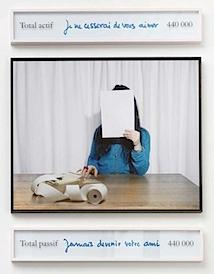 Sophie Calle: Take care of yourself. Accountant, Sylvie Roch, 2007