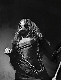 Daniel Kramer: Janis Joplin at Filmore East, 1968 © Daniel Kramer
