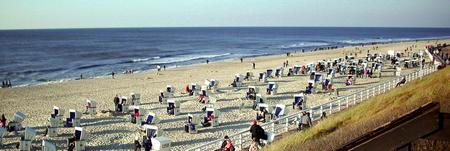 Das Strandbild als Pano