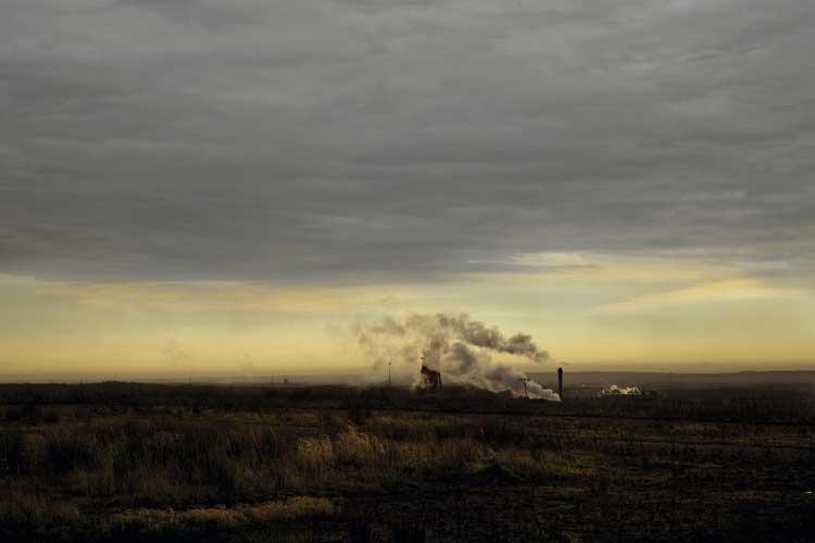 Claudia Dreyße, Dortmund: Rauchende Schlote, Wolken aufgespürt, 2008, 2007
