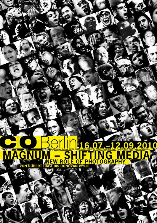 Ausstellungsplakat Magnum - Shifting Media