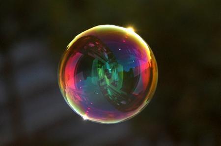 Seifenblase: Plastisch vereinfacht