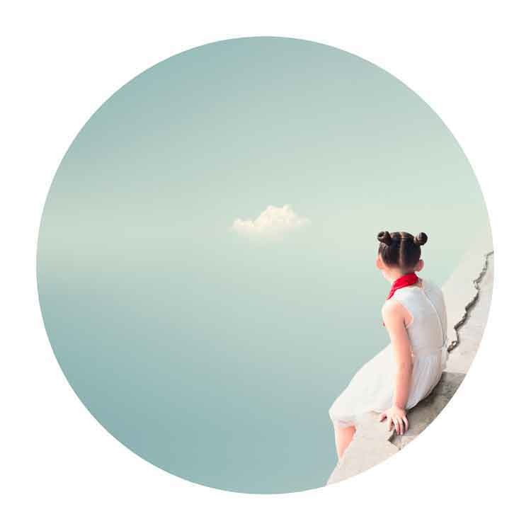 Liu XiaoFang, The cloud. From the series I remember, 2008, Courtesy 798 Photo Gallery, Beijing