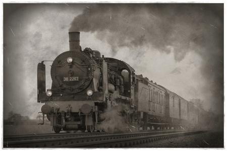 Retro-Eisenbahnfoto: Des einen Traum...