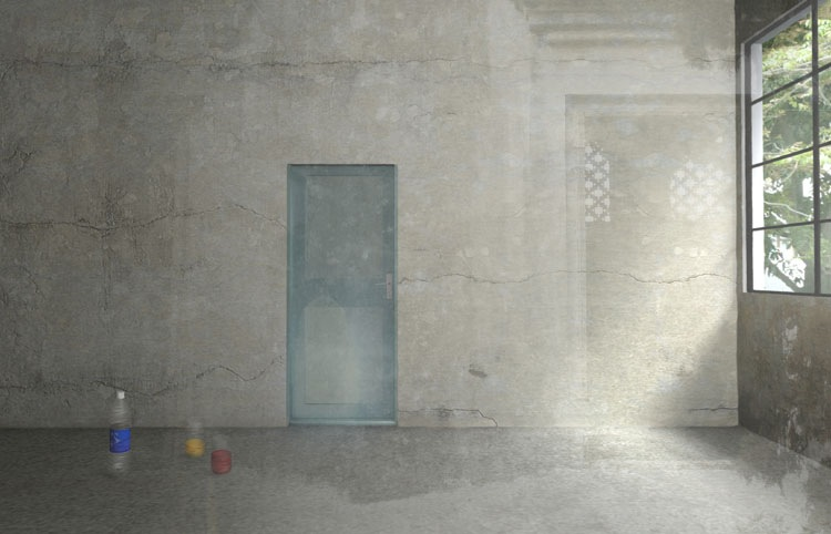 Maja Weyermann: Recalling #1, A. Prakash's studio, 2009, © Maja Weyermann, Berlin, 2009