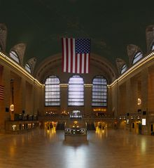 Das Grand Central Terminal.  2009 Samuel Raymann