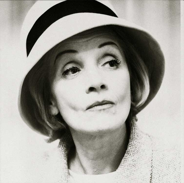 Liselotte Strelow: Marlene Dietrich, 1960, © VG Bild-Kunst, Bonn / LVR-LandesMuseum Bonn