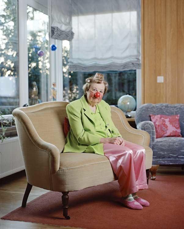 Anna Mutter: Gerlinde Pusch, aus der Serie Abendrot, 2009 (2. Preis)