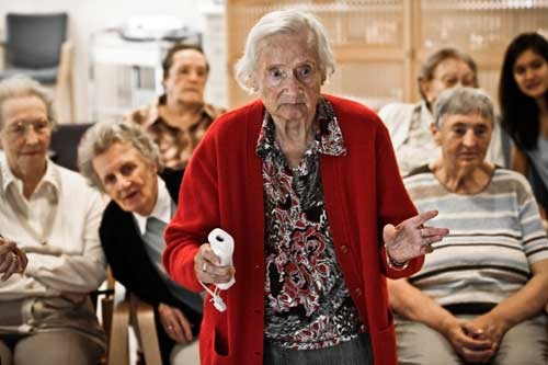 David Lohmüller: Strike - Seniorenbowling mit Nintendo Wii, 2009 (3. Preis)