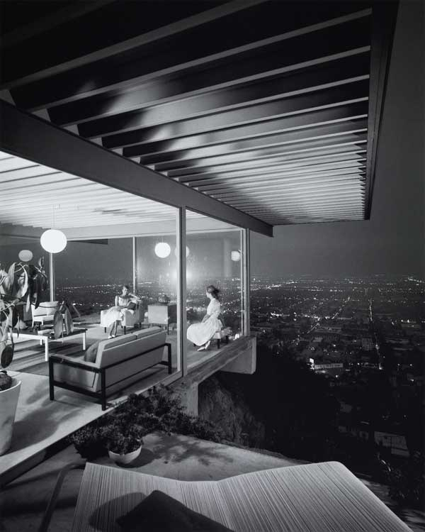 Julius Shulman: Case Study House 22, Architekt: Pierre Koenig, Los Angeles, 1960 © J. Paul Getty Trust