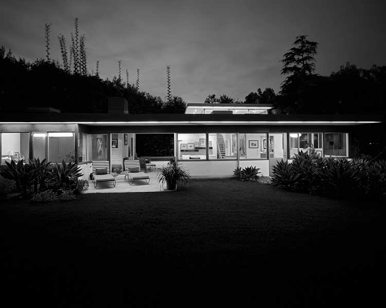 Julius Shulman/Jürgen Nogai: Freeman House, Santa Monica, 2007, Architekt: Richard Neutra (Peter Grueneisen) © J. Nogai