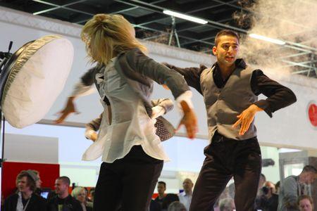 Tanzporträt: Unscharfer Schnappschuss