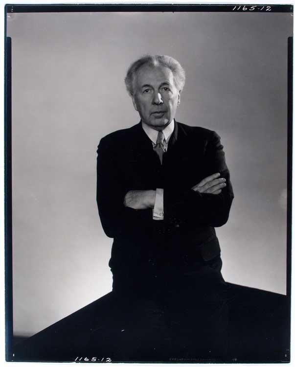 Edward Steichen: Frank Lloyd Wright, um 1932