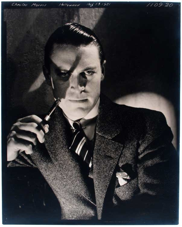Edward Steichen: Chester Morris, Hollywood, 15. August 1931