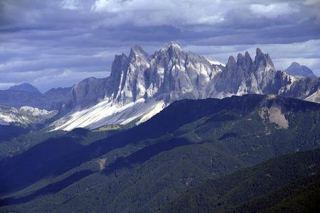 Bergpanorama: Dolomiten-Bühnenbild