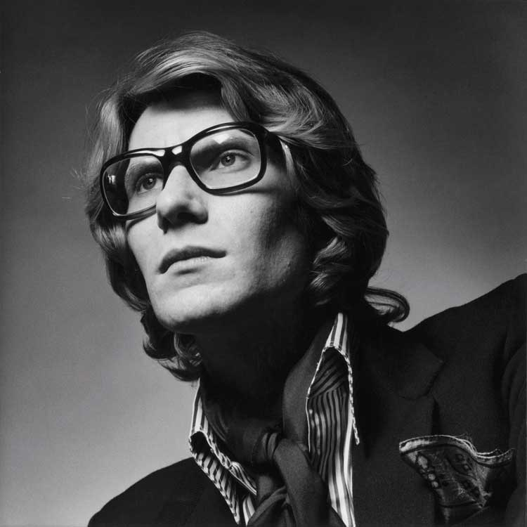 Jeanloup Sieff: Yves Saint Laurent, Paris, 1969