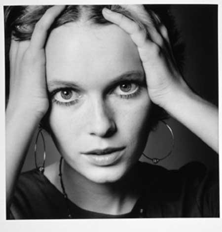 Jeanloup Sieff: Mia Farrow, Portrait pour Vogue, paris, 1968