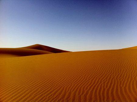 Sanddünen: Weiche Linien