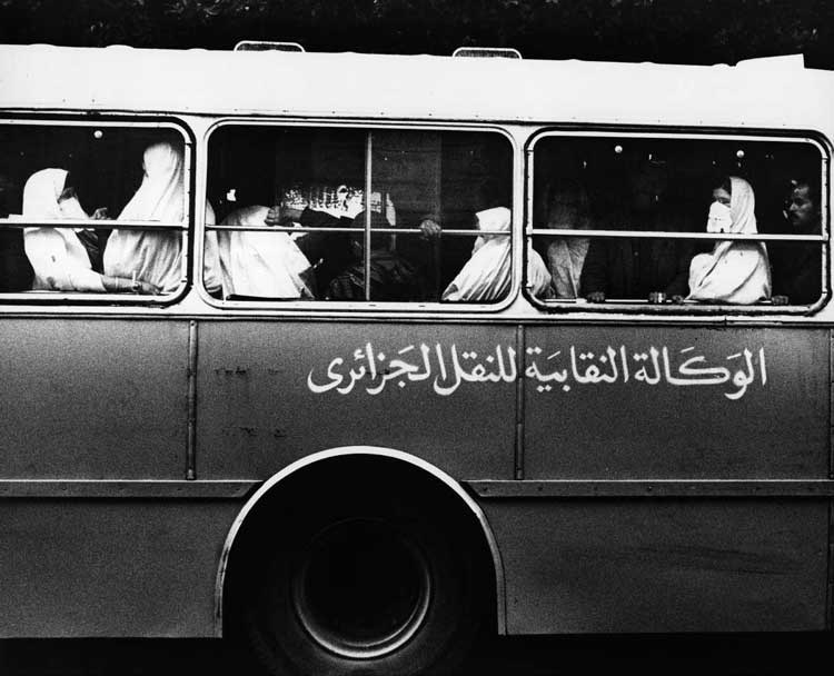 Abisag Tüllmann, Bus, Algerien, 1970