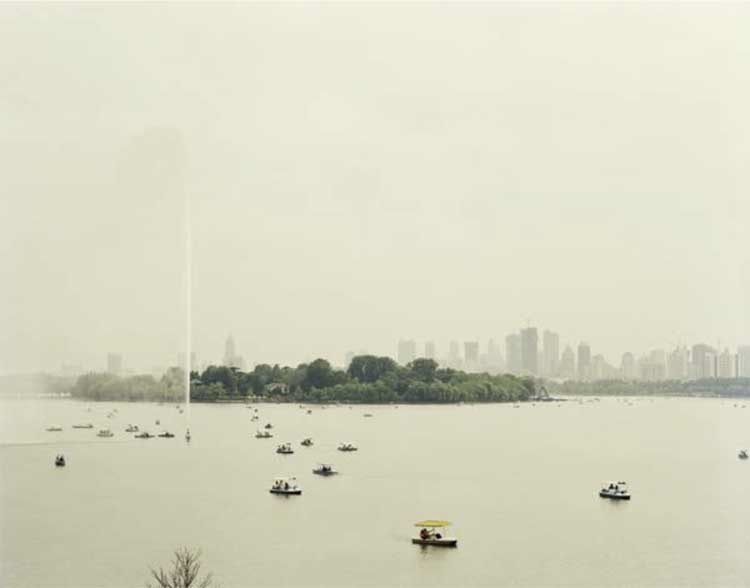 © Nadav Kander, Nanjing V, Jiangsu Province, 2007