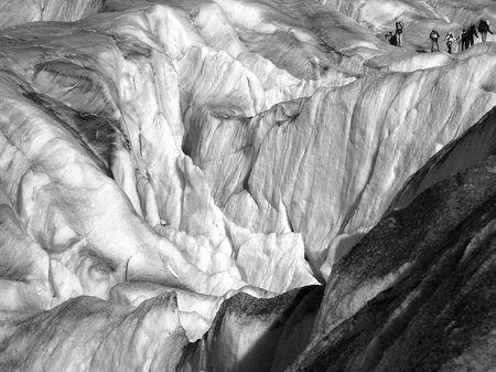 Gletscherbild: Landschaft aus Eis