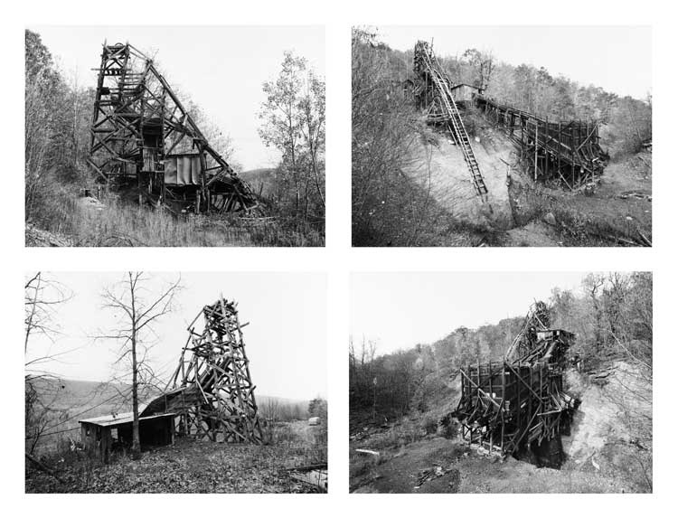 Bernd and Hilla Becher: Pit Head, Bear Valley, Pennsylvania, USA, 1974 © Hilla Becher, 2010