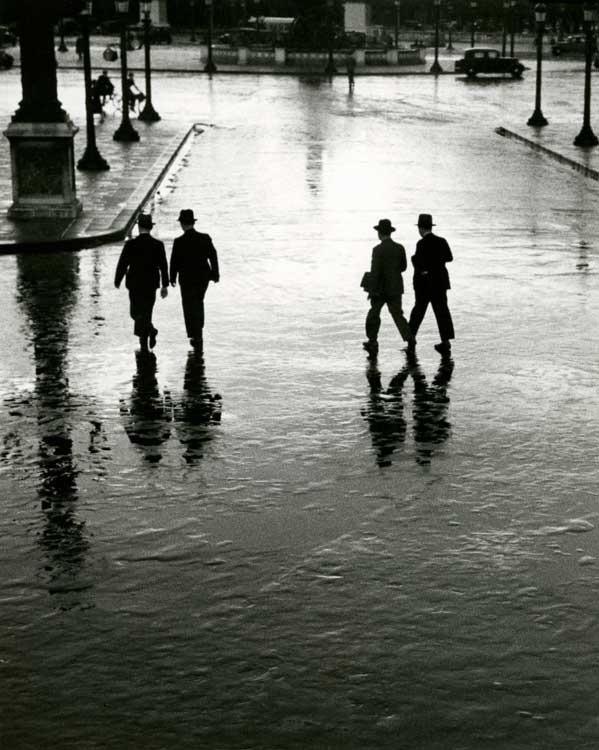 André Kertész: Place de la Concorde, Paris, 1928