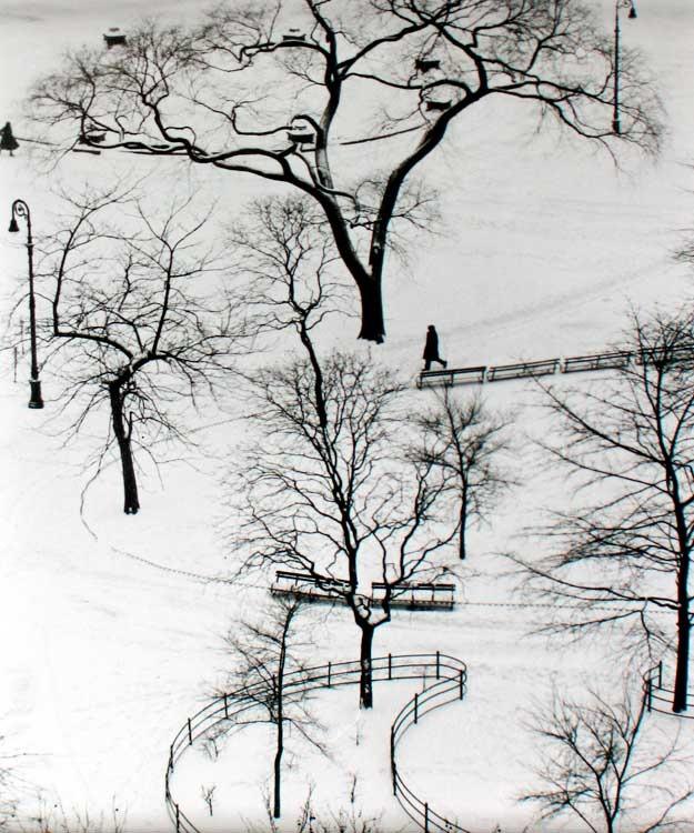 André Kertész: Washington Square, New York,