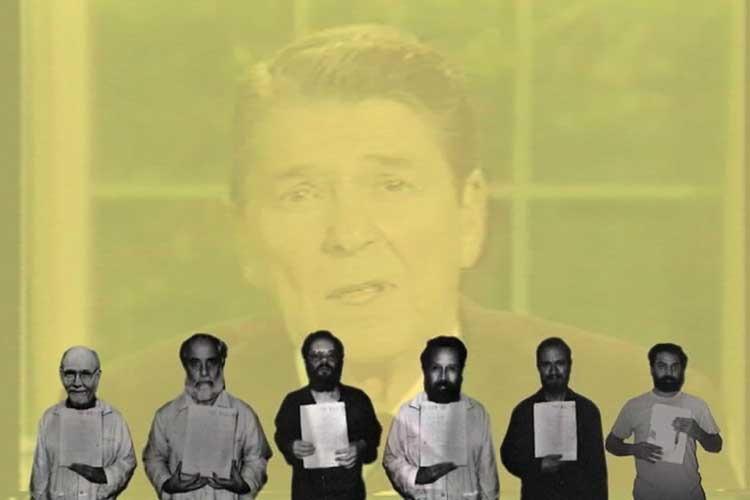 Walid Raad: Hostage: The Bachar Tapes (English Version) © Walid Raad. Courtesy Paula Cooper Gallery, New York, Sfeir-Semler Gallery, Beirut & Hamburg, Anthony Reynold Gallery, London