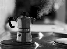 Die Cafetiere, leicht nachbearbeitet mit Lichter/Tiefen