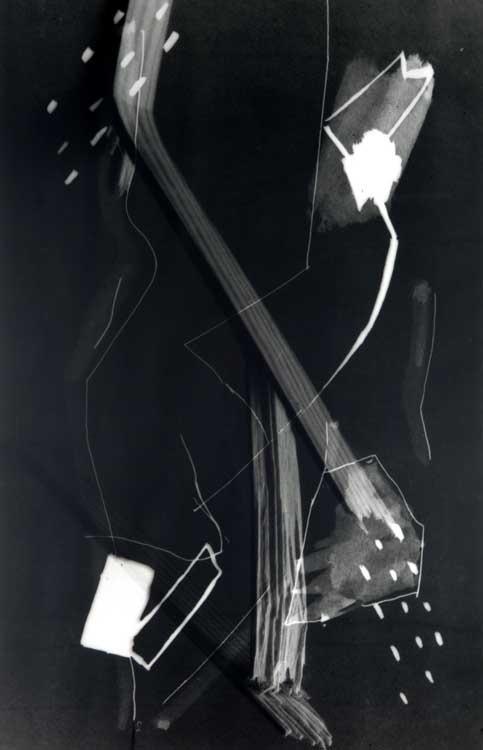 Pidder Auberger: Gebrochenes Holzstück, Fassung 2, 1986