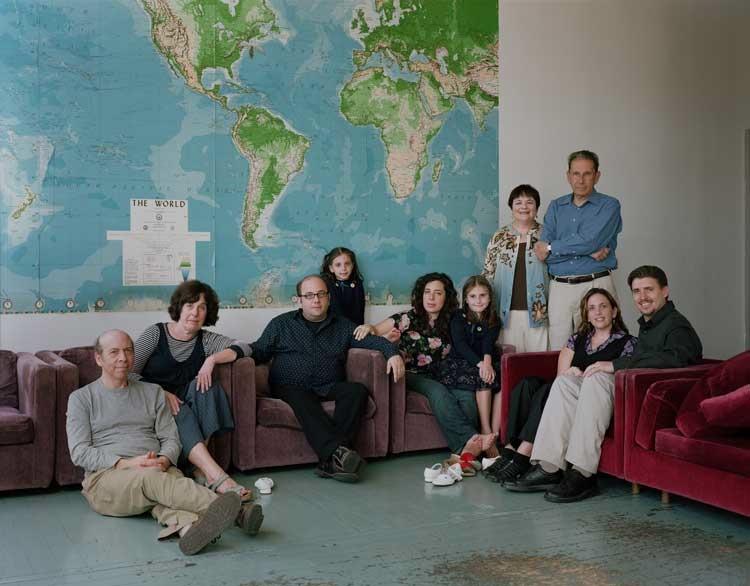 Thomas Struth: The Felsenfeld / Gold Families, Philadelphia, 2007